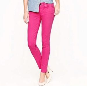 J. Crew Toothpick Cord in Hot Pink